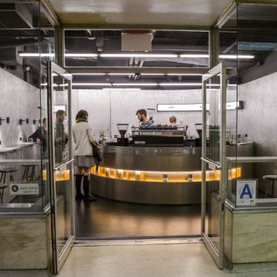 Coffee goes underground with Voyager