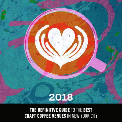 New York Coffee Guide 2018 - Pre-order