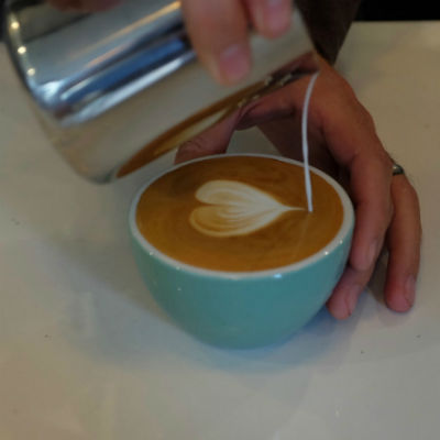 Latte Art by Jai Lott, from Bluestone Lane