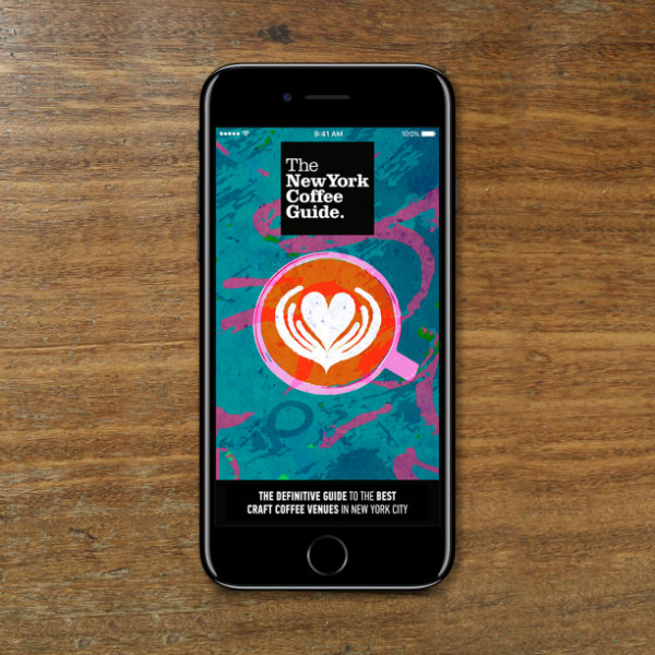 The New York Coffee Guide App